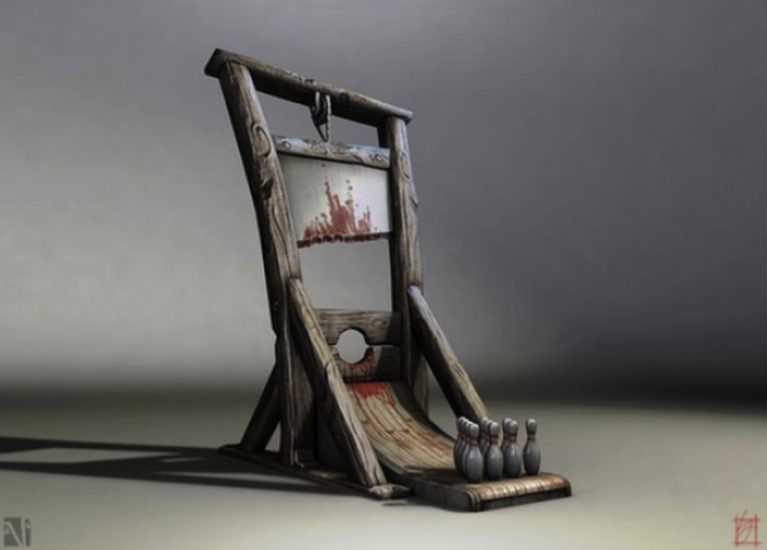 Guillotine Bowling Alley